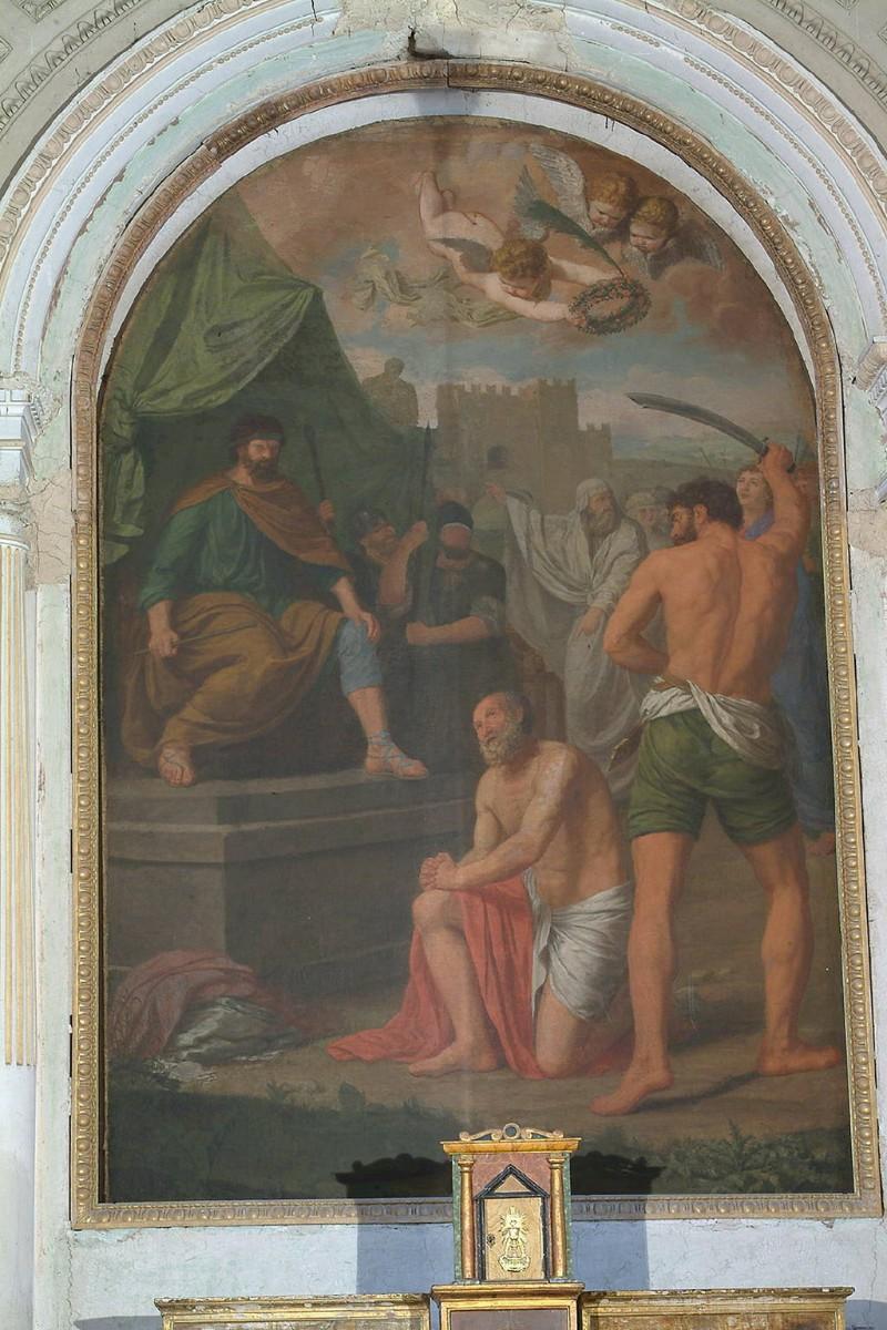 Attribuito Henry F. sec. XVIII, Martirio di San Saturnino