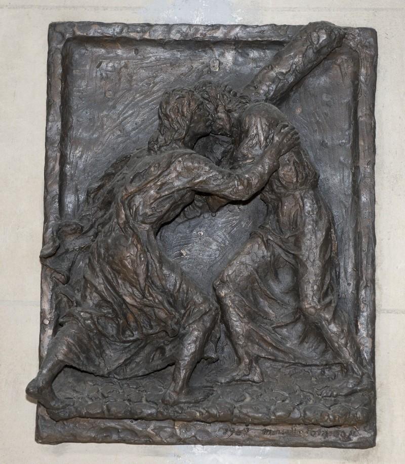 Ambito toscano (1969), Rilievo di Gesù che incontra la Madonna