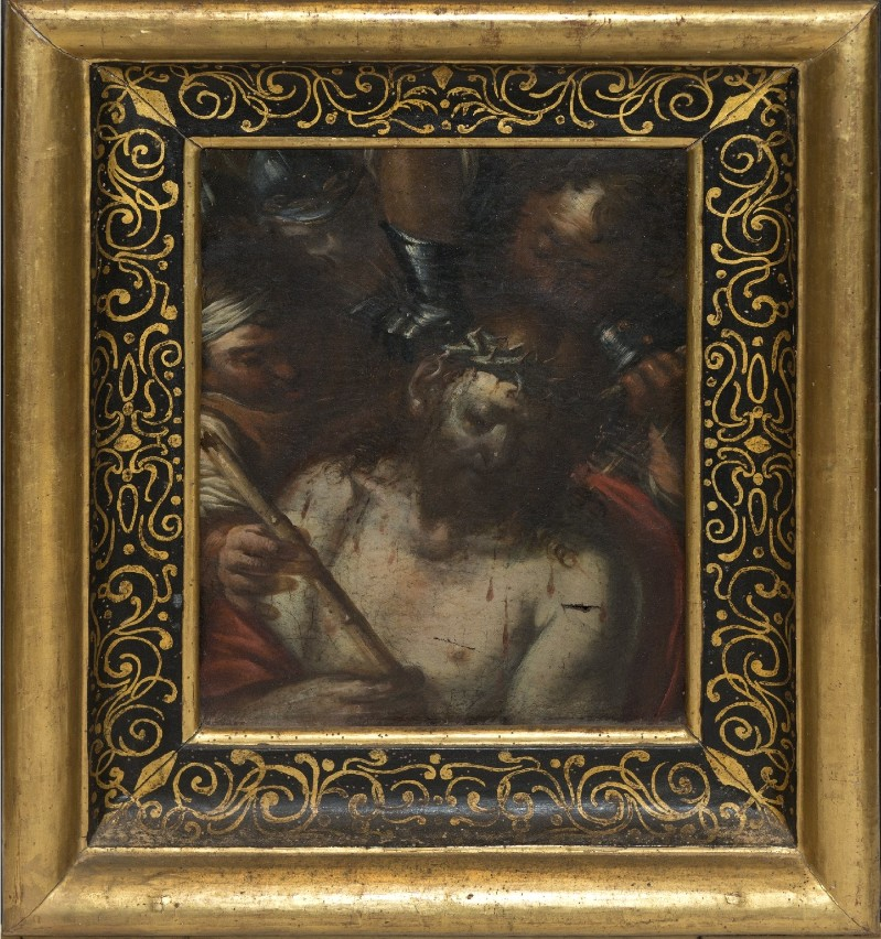 Ambito italiano sec. XVII, Dipinto di Ecce Homo