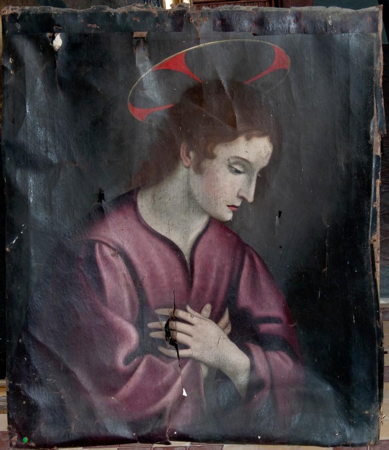 Scuola fiorentina sec. XVII, Gesù Cristo in preghiera