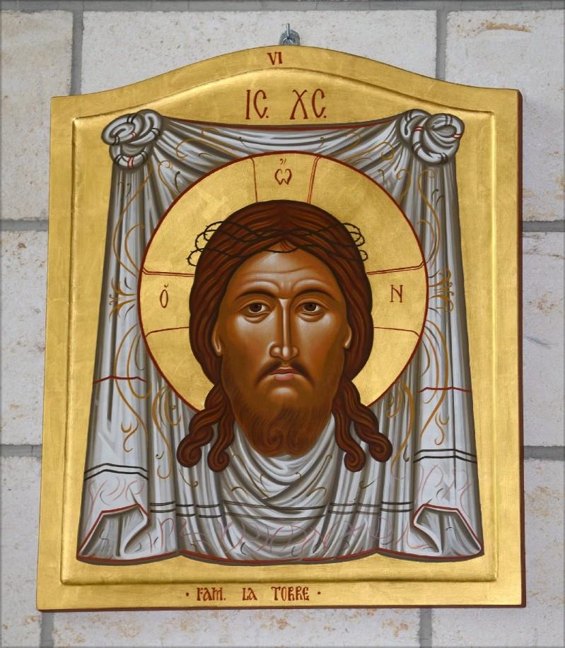 Mangano M. (2002), Icona di Gesù asciugato dalla Veronica