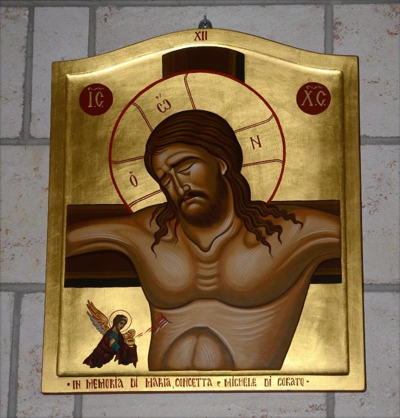 Mangano M. (2002), Icona di Gesù morto in croce
