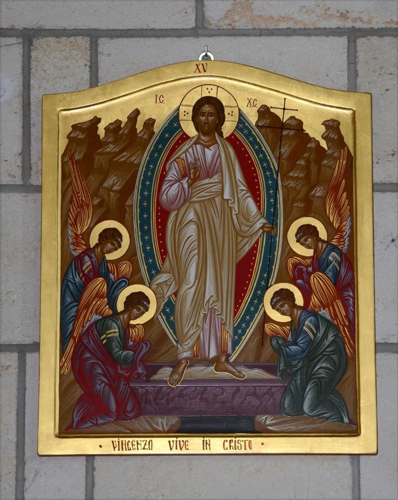 Mangano M. (2002), Icona di Gesù risorto