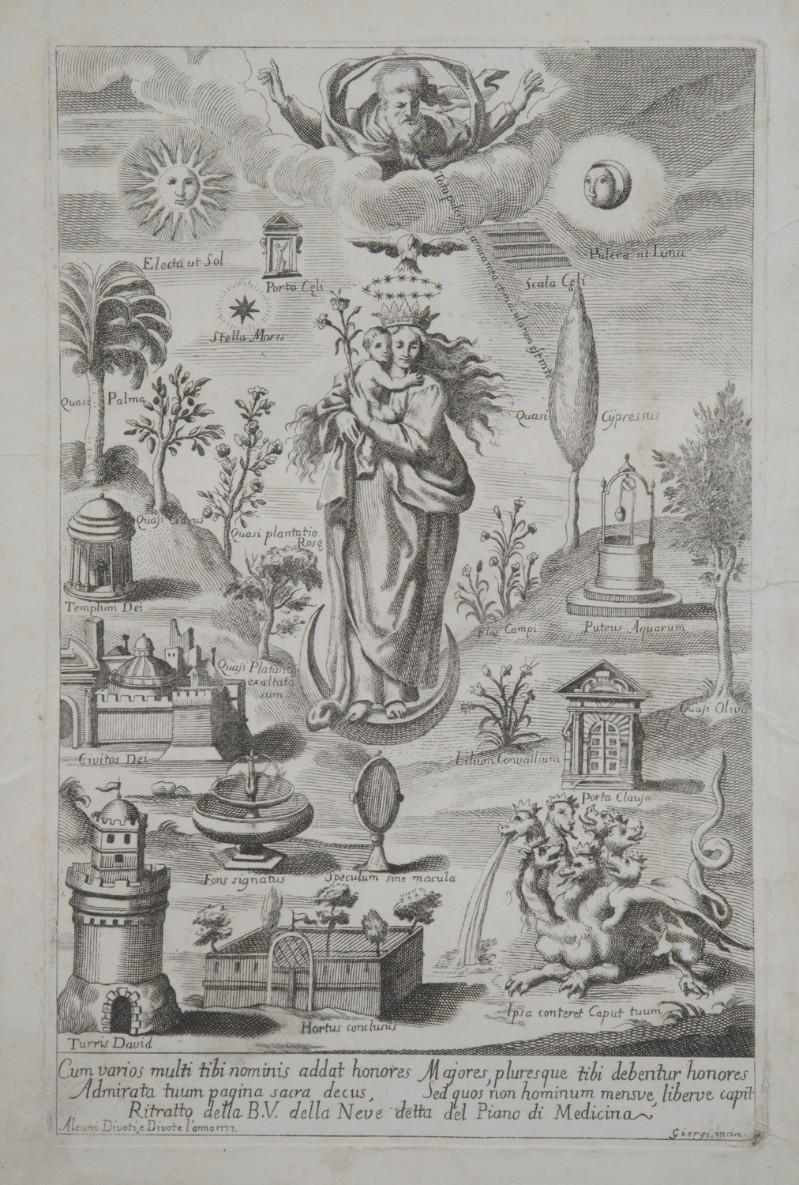 Giorgi G. (1777), Madonna della neve detta del Piano di Medicina