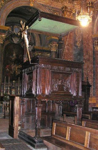 Il Pulpito del 1593