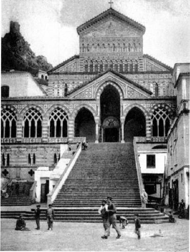 Cartolina della facciata del Duomo (inizio XX sec.), collezione privata