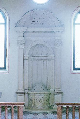 Il fonte battesimale (XIX sec.)