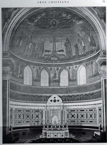 Abside della Basilica Lateranense  (foto Alinari, da Arte Cristiana 17 1929 p.75