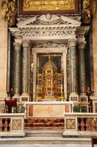 La custodia Eucaristica