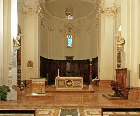 L' area presbiteriale