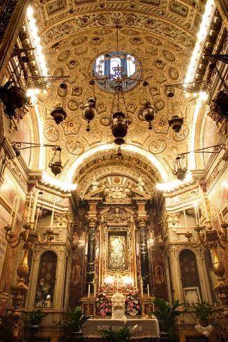 La cappella dedicata alla Madonna delle Grazie