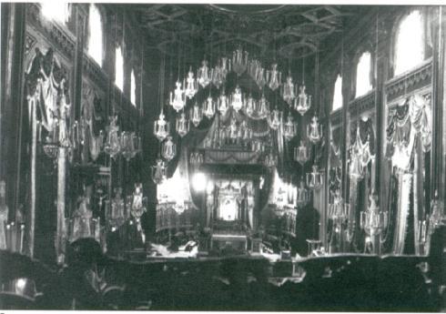 L'interno della cattedrale, Archivio dell'Università del Carnevale, Velletri