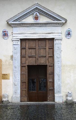 Dettaglio del portale d'ingresso