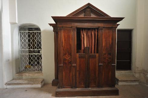Confessionale nelle penitenzieria