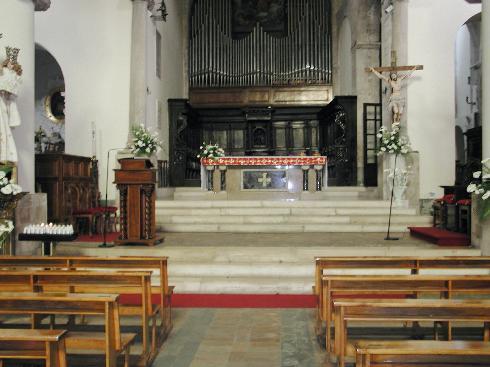 L'area presbiteriale