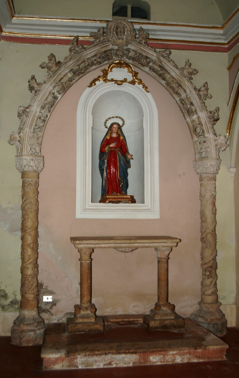 Bottega di Gualtiero d'Alemagna sec. XV, Arco 1/2