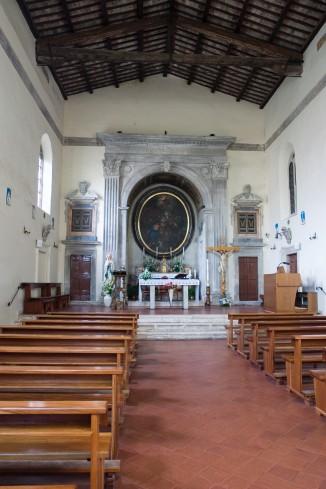 L'interno della cattedrale.
