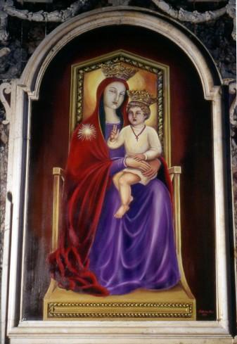 Mari F. (1994), Madonna con Gesù Bambino