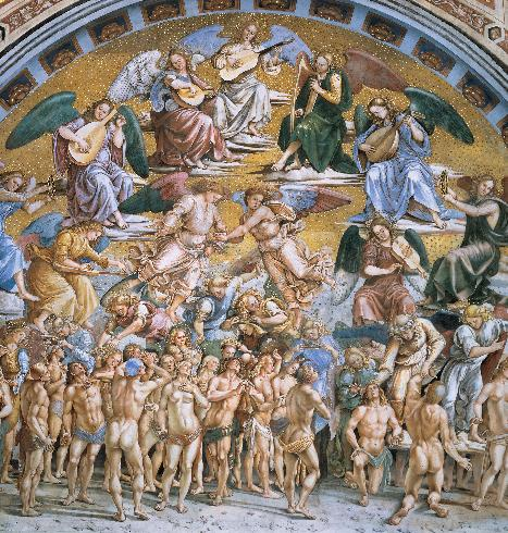 Cappella di San Brizio affreschi di L. Signorelli XVI sec.
