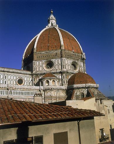 La cupola della cattedrale di Santa Maria del Fiore a Firenze