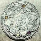 Ambito sardo sec. XIX, Aureola di Sant'Antioco