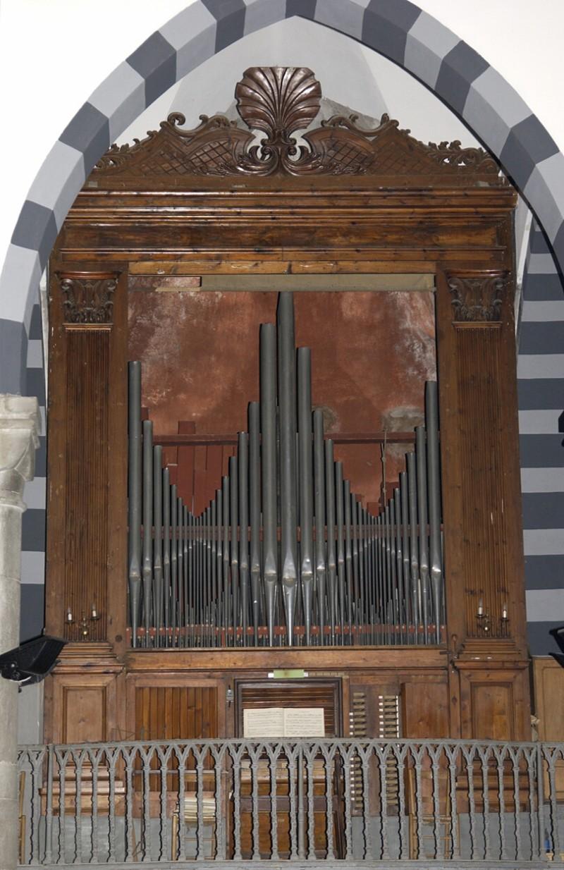 Agati N. (1851), Organo a canne