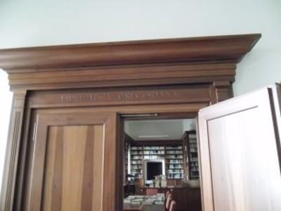 Ingresso Biblioteca Gregoriana
