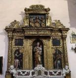 Artigianato molisano sec. XVII, Edicola d'altare
