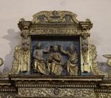 Scultore molisano sec. XVII, Rilievo della Madonna incoronata