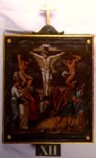 Agazio V. sec. XIX, Dipinto di Gesù morto in croce