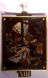 Agazio V. sec. XIX, Dipinto di Gesù deposto dalla croce