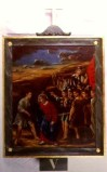 Agazio V. sec. XIX, Dipinto di Gesù aiutato dal cireneo