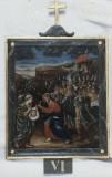 Agazio V. sec. XIX, Dipinto di Gesù asciugato dalla Veronica
