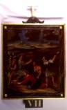 Agazio V. sec. XIX, Dipinto di Gesù che cade la seconda volta