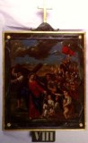 Agazio V. sec. XIX, Dipinto di Gesù che consola le pie donne di Gerusalemme