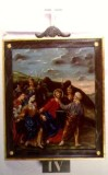 Agazio V. sec. XIX, Dipinto di Gesù che incontra la Madonna