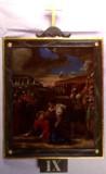 Agazio V. sec. XIX, Dipinto di Gesù che cade la terza volta