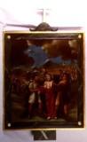Agazio V. sec. XIX, Dipinto di Gesù è spogliato e abbeverato di fiele