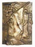 Litigante G. fine sec. XX, Gesù Cristo dopo le tentazioni