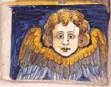 Ambito castellano sec. XVII, Formella con angelo 2/4