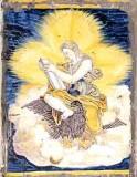 Ambito castellano sec. XVII, Formella con San Giovanni e l'aquila