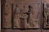 Sergiacomi Aldo (1977), Formella raffigurante il rito del matrimonio