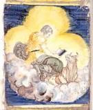 Ambito castellano sec. XVII, Formella con San Luca e il bue