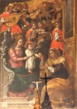 Borghese I. (1607), Madonna in trono con Bambino e Sant'Anna