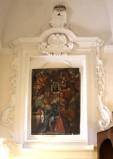 Ambito calabrese sec. XVIII, Cornice in stucco