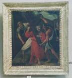 Abbate G. sec. XVIII, Gesù caricato dalla Croce