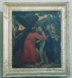 Abbate G. sec. XVIII, Gesù incontra la Madonna