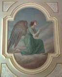 Conti Consoli S. (1932-1936), Angelo adorante con veste verde