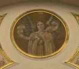 """Conti Consoli S. (1932-1936), Angelo con scritta """"ITE AD JOSEPH"""""""