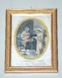 Agricola L.-Lomastro E. T. sec. XIX, Via Crucis con Gesù condannato a morte